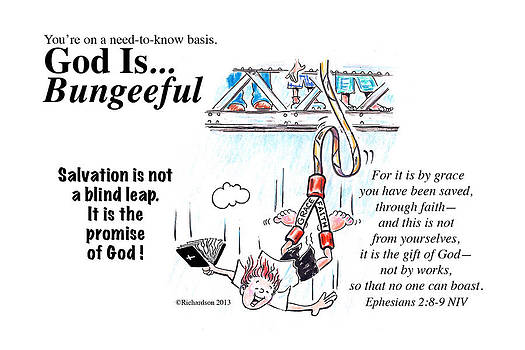 God Is Bungeeful by George Richardson