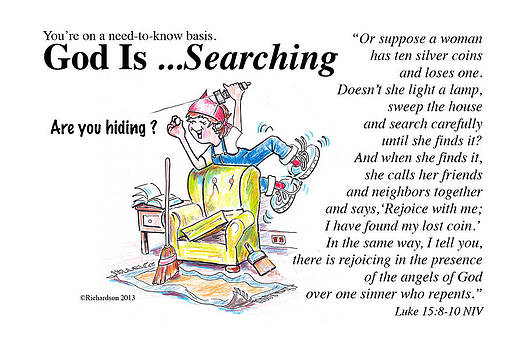 God Is Searching by George Richardson