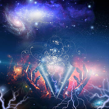 God peels back the ether and we find particle physics by Bruce Rolff