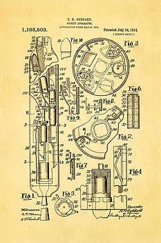 Ian Monk - Goddard Rocket Patent Art 1914