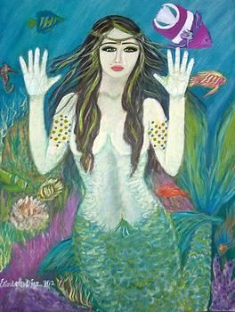 Goddess Aphrodite by Elizabeth Diaz