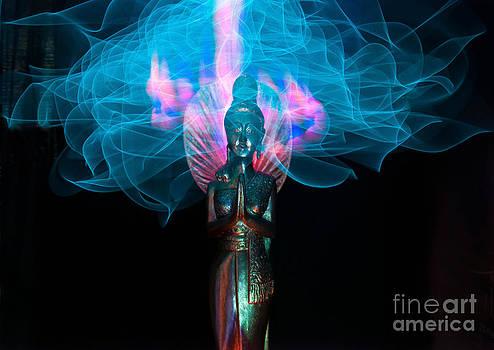 Goddess light painting by Shawn  Bowen