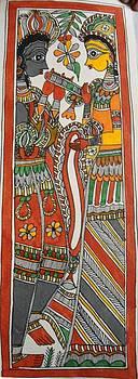 Goddess Radha and God Krishna by Rajnish Kr
