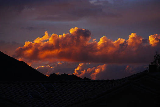 God's Golden Clouds by Dennis Galloway