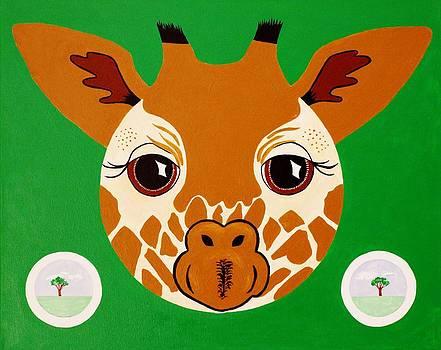 Goie Baby Giraffe by Goie Goie FunArt