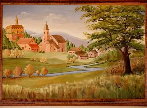 Goie Landscape by Goie Goie FunArt