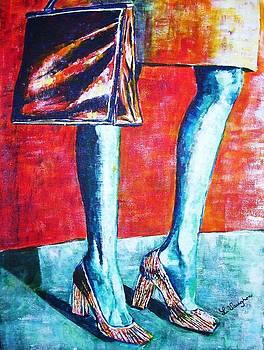 Going Shopping by Linda Vaughon