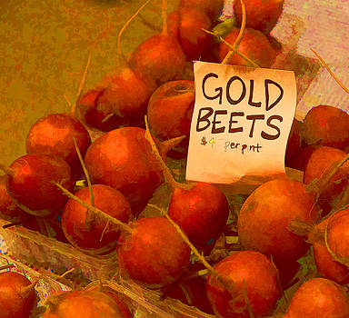 Gold Beets by Mary Underwood