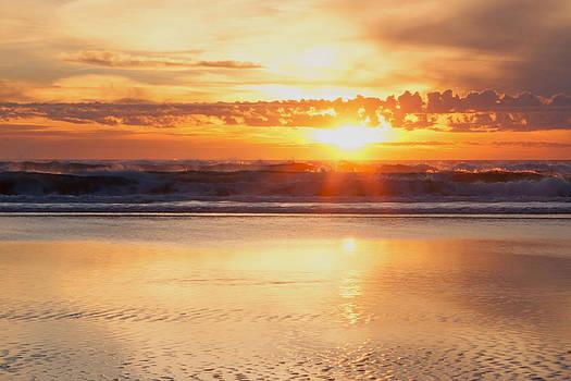 Gold Bluff Sunset by Susan Rovira