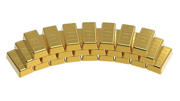 Gold bullions by Borislav Marinic