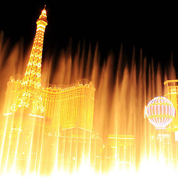 Gold flows in Vegas by Cedric Darrigrand