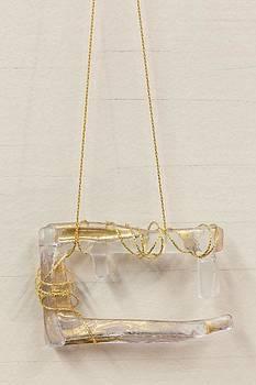 Gold Necklace by Jolanta Sokalska