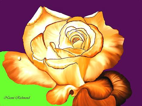 Naomi Richmond - Gold Rose