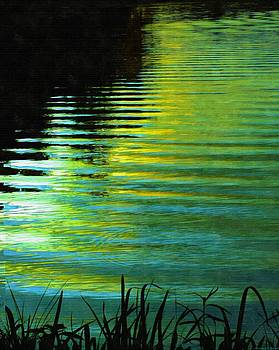 Rosemarie E Seppala - Golden Blue Chrome..... Summers Serenity