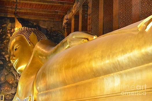 Golden Buddha 05 by Bobby Mandal