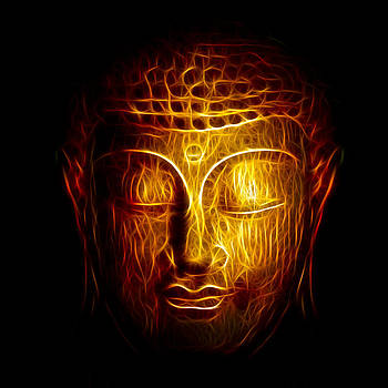 Adam Romanowicz - Golden Buddha Abstract