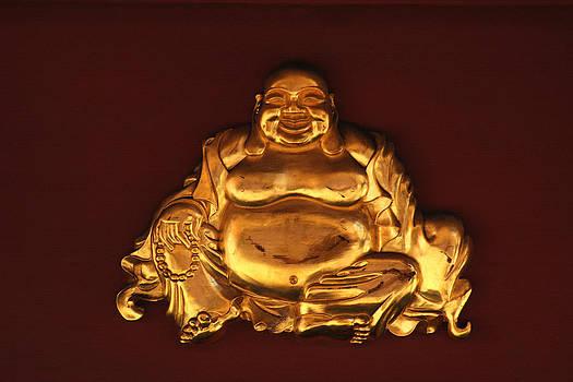 Art Block Collections - Golden Buddha