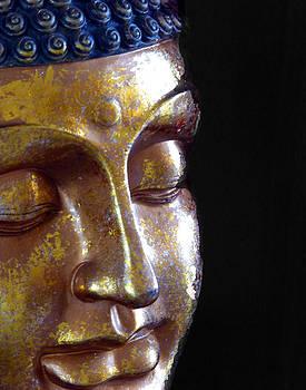 Golden Buddha by Carl Sheffer