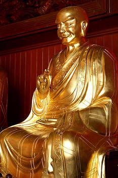 Golden buddha by Pong Am