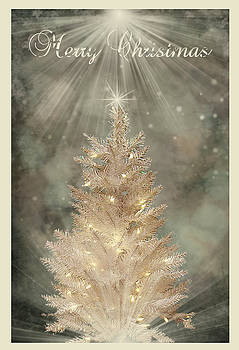Kristie  Bonnewell - Golden Christmas Tree