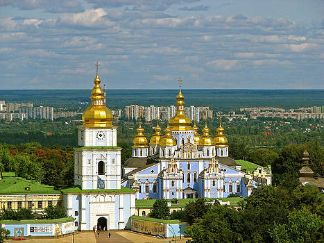 Ludmila Nayvelt - Golden Domes of  Kiev