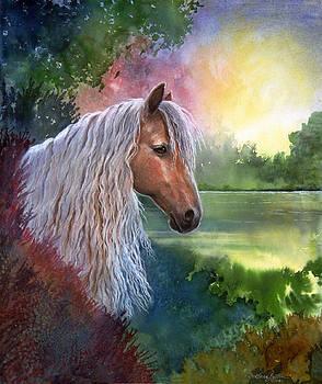 Golden dreams by Artist Karen Barton