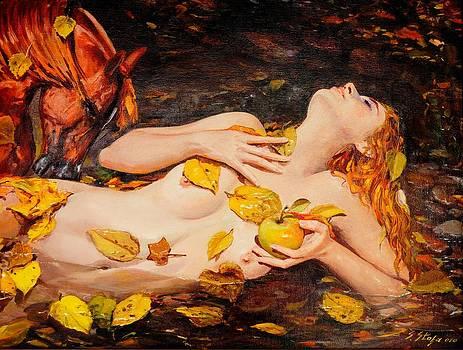 Golden Fall - The River Girl by Sefedin Stafa