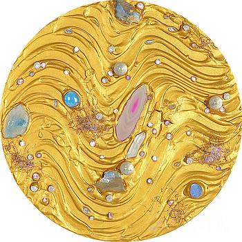 Heidi Sieber - Golden flow of gems