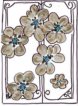 Golden Flower by Iamthebetty Tbone