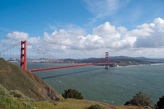 Golden Gate Bridge by Bruce Gourley