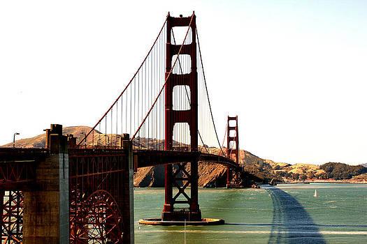 Golden Gate Bridge by Cedric Darrigrand