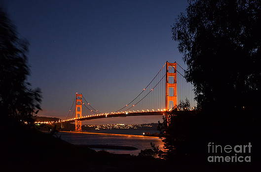Golden Gate Bridge I by Andy Yoon