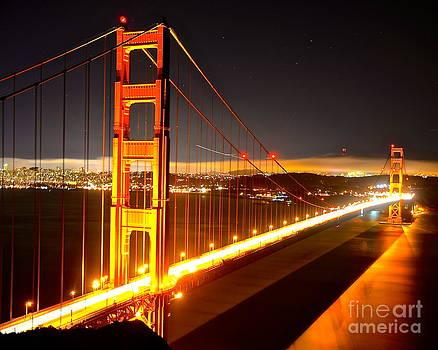 Golden Gate Bridge II by Andy Yoon
