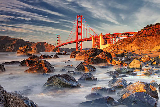 Golden Gate Bridge by Laszlo Rekasi