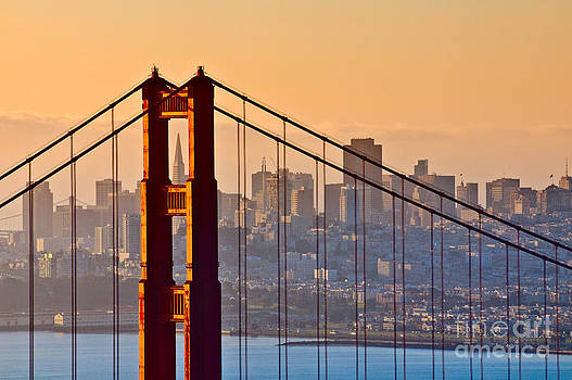 Golden Gate Bridge San Francisco by Konstantin Kalishko