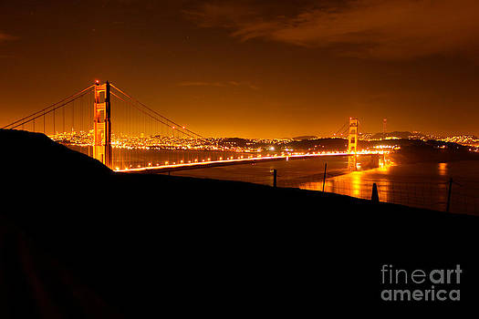Golden Gate Bridge San Francisco by Lisza Anne McKee