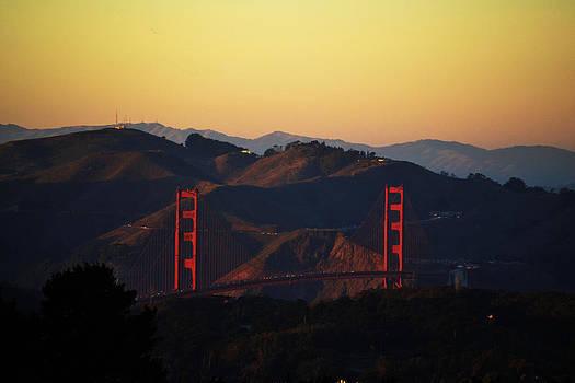 Joe Bledsoe - Golden Gate from Twin Peaks