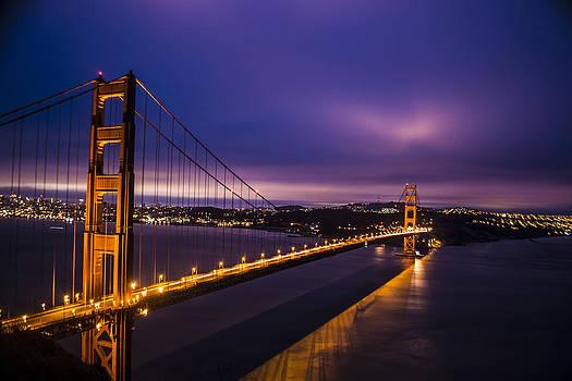 Golden Gate Sunrise by Brandon McClintock