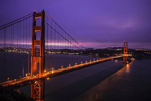 Golden Gate Sunrises by Brandon McClintock