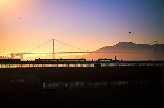 Jeremy Herman - Golden Gate Sunset