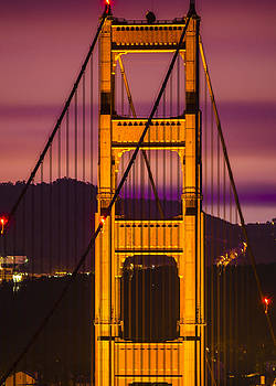 Golden Gate Twilights by Brandon McClintock