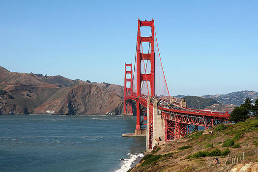 Art Block Collections - Golden Gate View