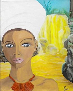 Golden Goddess by Yabette Swank