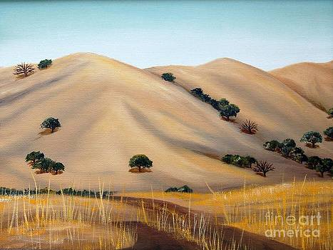 Golden Hills by AnnaJo Vahle