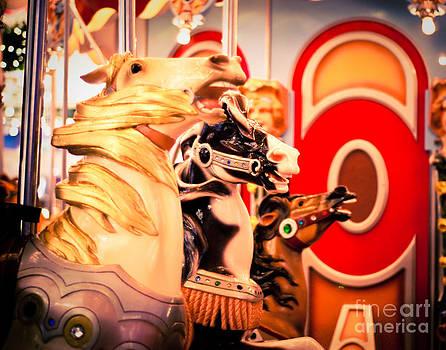 Sonja Quintero - Golden Horse of the Carousel