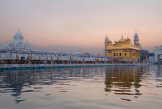 Devinder Sangha - Golden Hour at Golden Temple