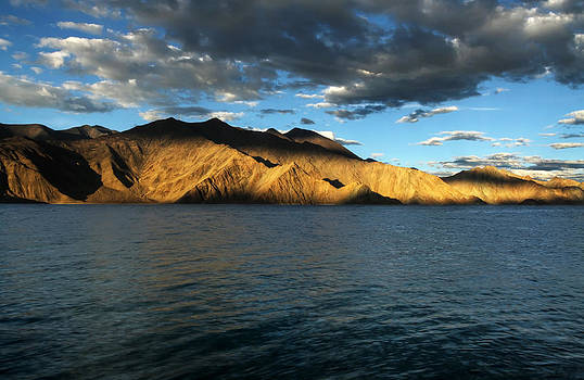 Golden Hour at Pangong by Rohit Chawla
