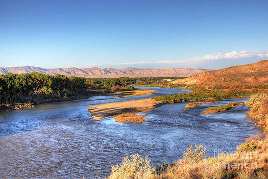 Bob Hislop - Golden Hour on the Colorado