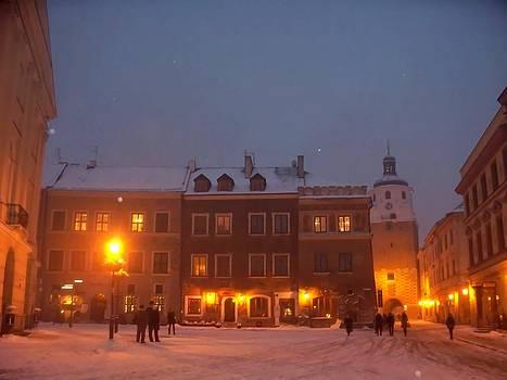 Rick Todaro - Golden Lights In Snow