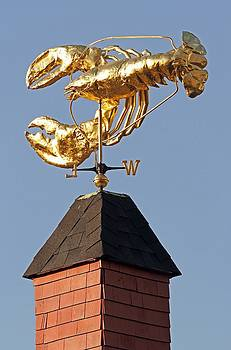 Juergen Roth - Golden Lobster Weathervane